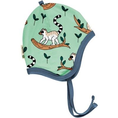 Gorro com fitas Maki Jungle Maxomorra (Tamanhos disponíveis 40, 44 e 48)