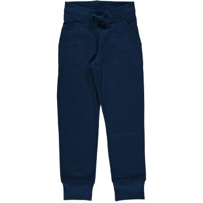 Calças de Sweat c/bolsos DARK BLUE  Maxomorra (Tamanhos disponíveis 9-12m, 18-24m, 3-4a, 5-6a, 7-8a, 9-10a)
