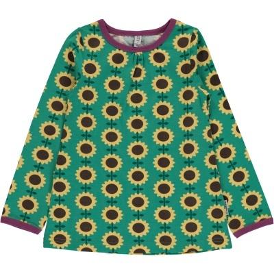 Blusa SUNFLOWER Maxomorra (Tamanhos disponíveis 9-12m, 18-24m, 3-4a, 5-6a, 7-8a, 9-10a)