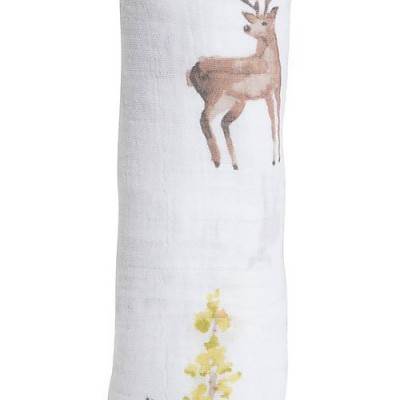 Musselina de algodão Deers 120x120 Little Unicorn (1und.)