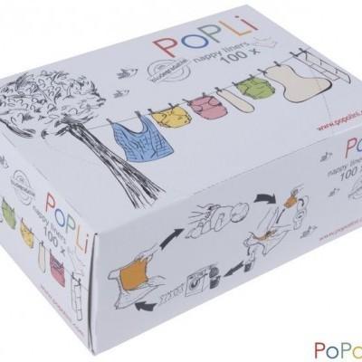Liners Popolini Viscose (caixa 100 folhas)
