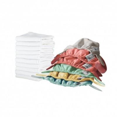 Kit de Fraldas Reutilizáveis Recém-Nascido Close Pop-In