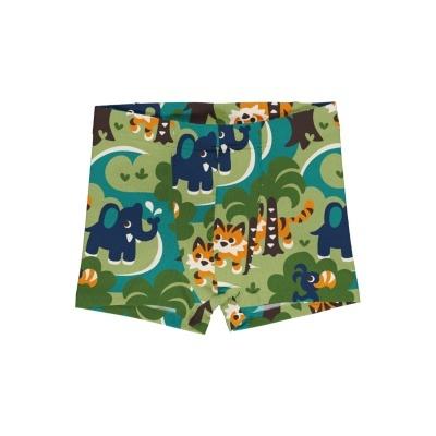 Boxers/cueca Jungle Maxomorra (Tamanhos disponíveis 9-12m, 18-24m, 3-4a, 5-6a, 7-8a, 9-10a)