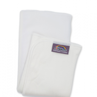 Absorvente trifold de bambu e canhâmo Little Lovebum