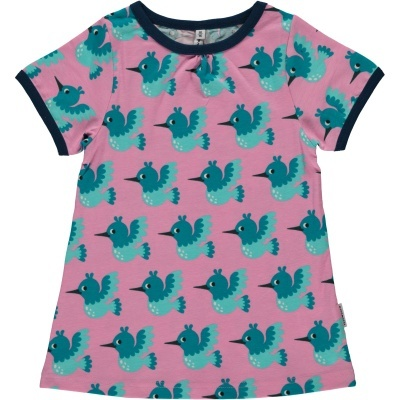 Blusa SS HUMMINGBIRD Maxomorra (Tamanhos disponíveis 9-12m, 18-24m, 3-4a, 5-6a, 7-8a, 9-10a)