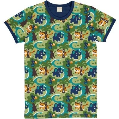 T-shirt de adulto JUNGLE Maxomorra (Tamanhos disponívei XS, S, M, L, XL)