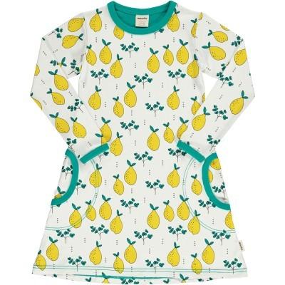 Vestido LEAFY LEMON Meyaday (Tamanhos disponíveis 18-24m, 3-4a, 5-6a, 7-8a)