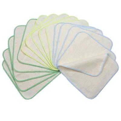 Toalhetes de limpeza reutilizáveis em Flanela Avo&Cado (15unds.)