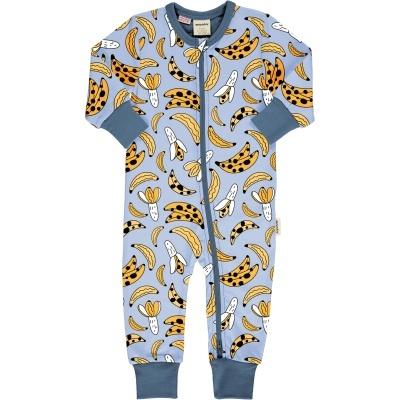 Babygrow com zip BANANANA Maxomorra (Tamanhos disponíveis 1-3m, 3-6m, 9-12m e 18-24m)