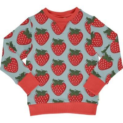 Camisola Sweatshirt STRAWBERRY Maxomorra (Tamanhos disponíveis 9-10A)