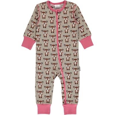 Babygrow com zip FAWN Maxomorra (Tamanhos disponíveis 1-3m, 3-6m, 9-12m e 18-24m)