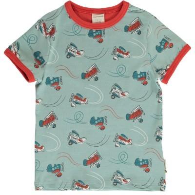 T-shirt Air Show Maxomorra (Tamanhos disponíveis 9-12m, 18-24m, 3-4a)