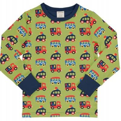 Camisola Colourful cars Maxomorra (Tamanhos disponíveis 9-12, 18-24m, 3-4a, 5-6a)