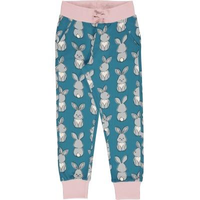 Calças de Sweat c/bolsos RABBIT Maxomorra (Tamanhos disponíveis 5-6a)