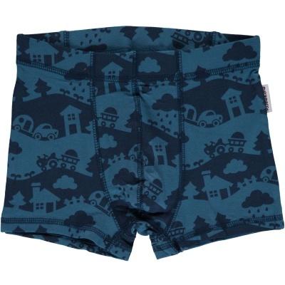 Boxers/cueca BLUE LANDSCAPE Maxomorra (Tamanhos disponíveis 9-12m, 18-24m, 3-4a, 5-6a, 7-8a, 9-10a)