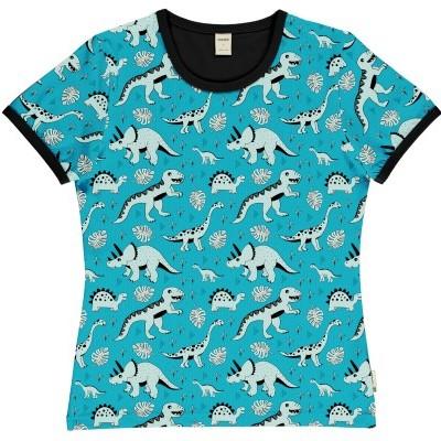 T-shirt de adulto (mulher) dino forest Meyaday (Tamanhos disponíveis S)