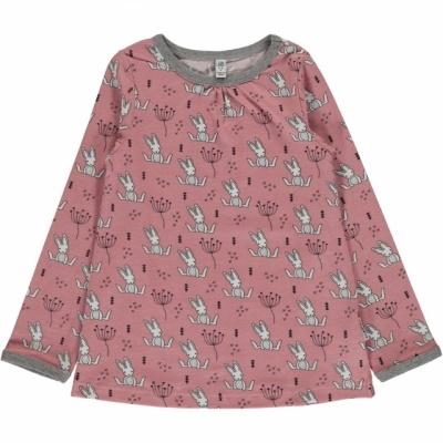 Blusa LS SWEET BUNNY  Maxomorra (Tamanhos disponíveis 9-12m, 18-24m, 3-4a, 5-6a, 7-8a, 9-10a)