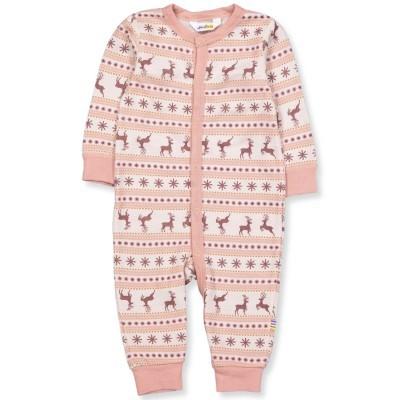 *Pré encomenda* Babygrow Jumping Deer Coral JOHA