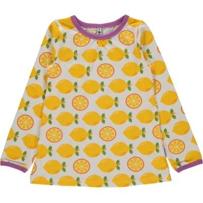 Blusa LEMON Maxomorra (Tamanhos disponíveis 9-12m, 18-24m, 3-4a, 5-6a, 9-10a)