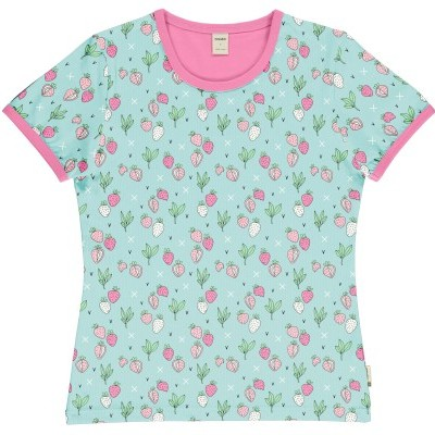 T-shirt de adulto (mulher) Strawberry Fields Meyaday (Tamanhos disponíveis S, M, L)