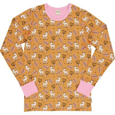 Camisola de adulto POPPY DEER Maxomorra (Tamanhos disponíveis XS, S, M, XL)