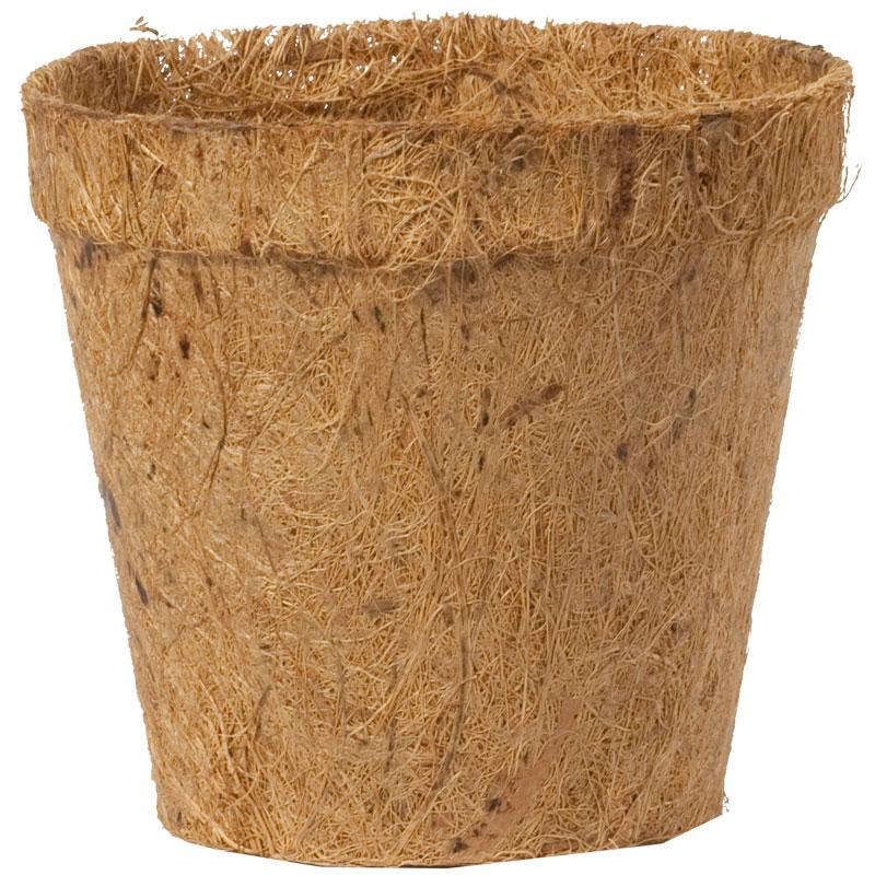 Vasos  fibra coco  -  100% Compostáveis