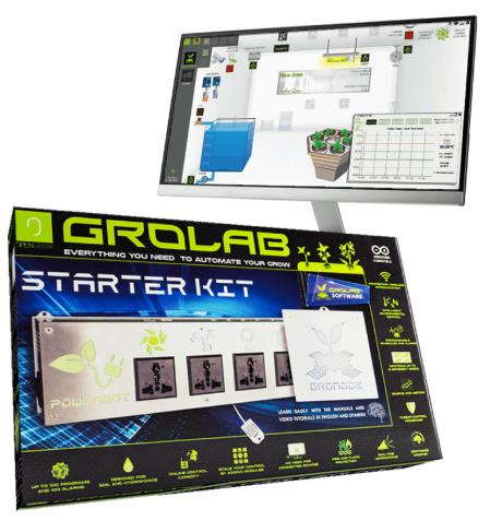 Starter kit de controlo para cultivo