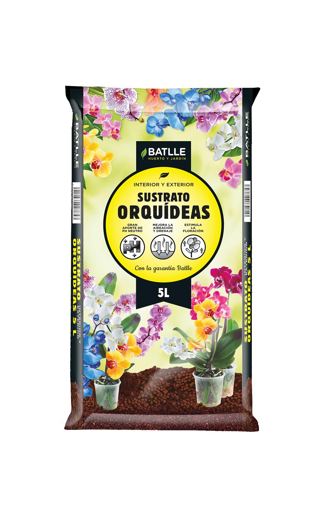 Substrato Orquídeas 5L