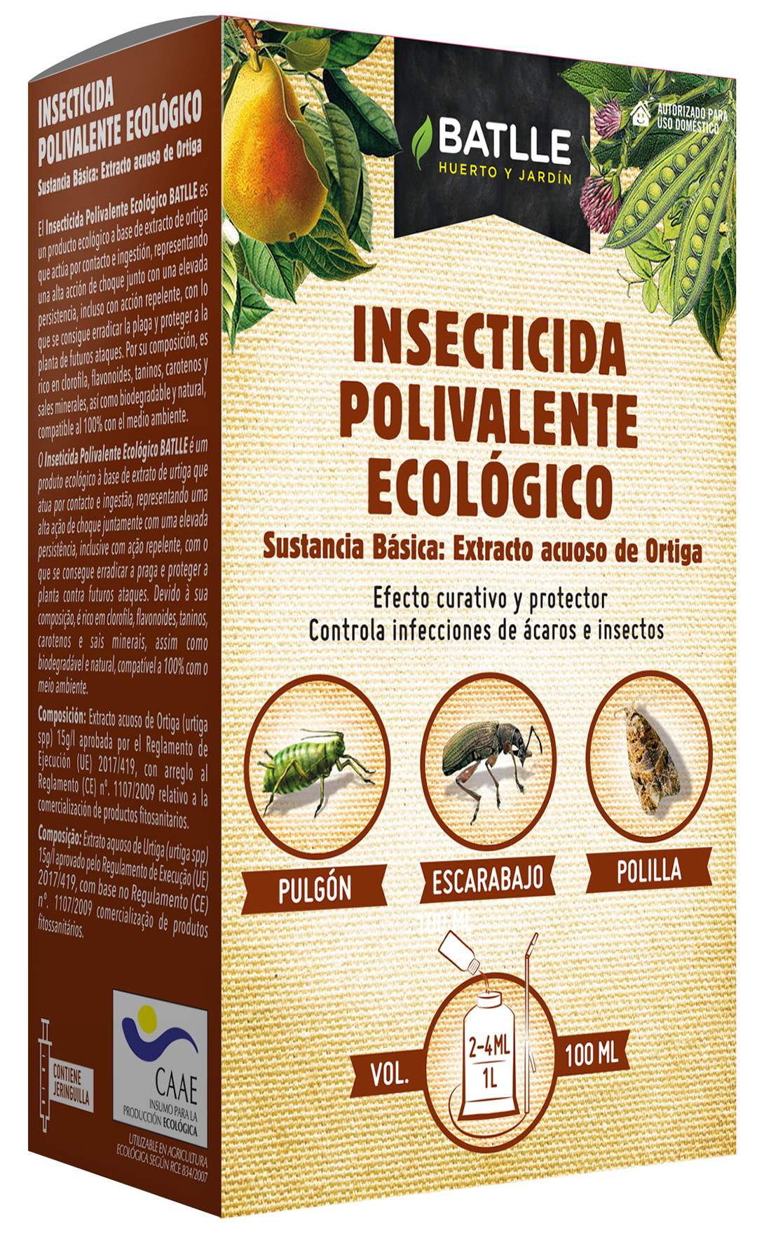 Inseticida Eco Polivalente
