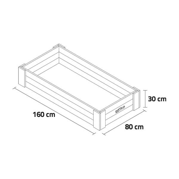 Cama Elevada / Canteiro Box XL30