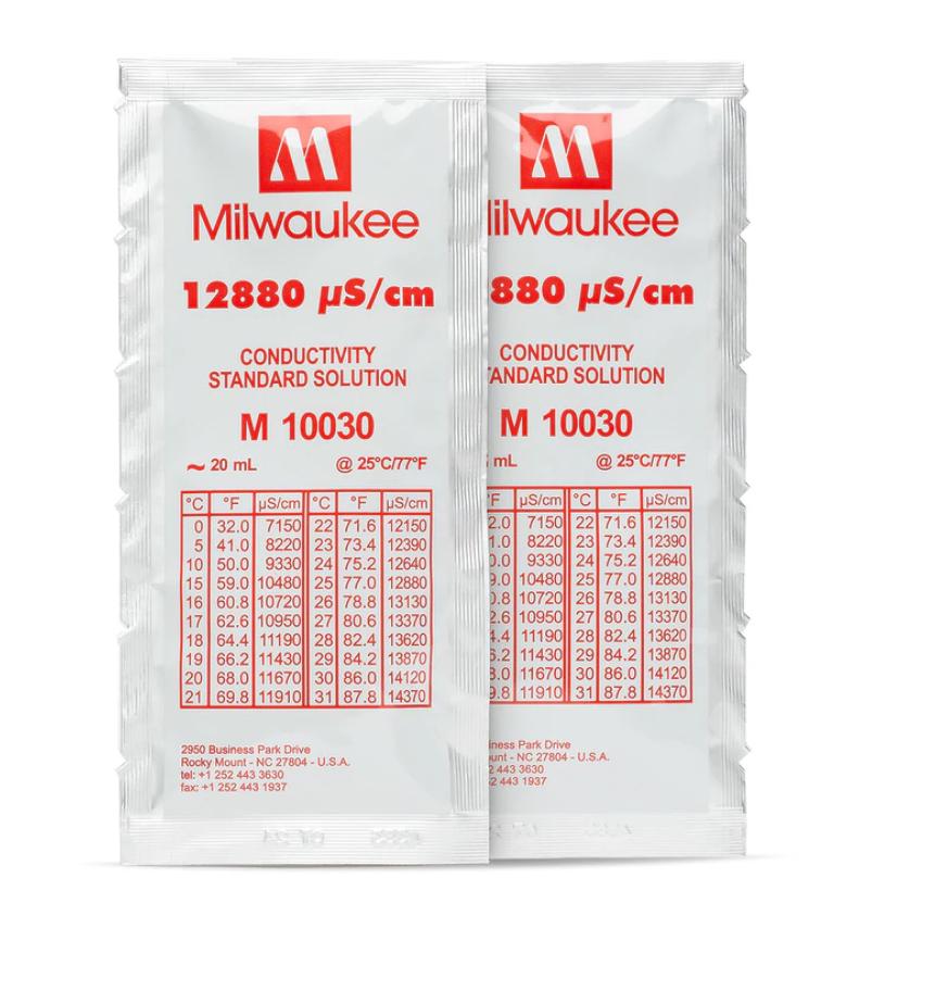 Solução de calibração EC 12880 uS/cm  20 ml