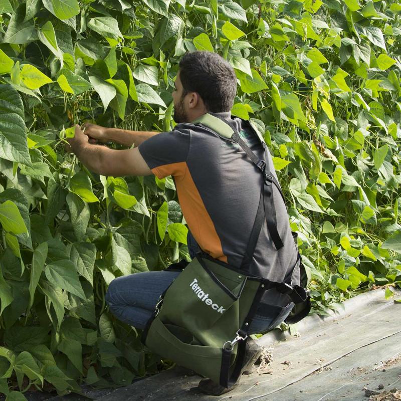 Saco de colheita lateral