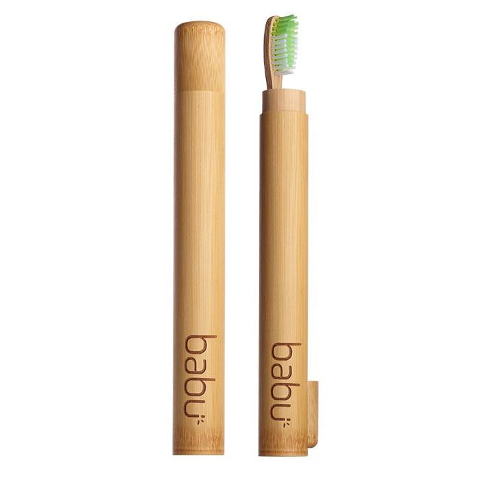 Cana de Bambú para Escova de Dente Adulto