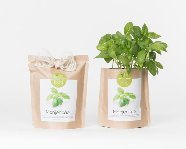 Grow Bag Manjericão