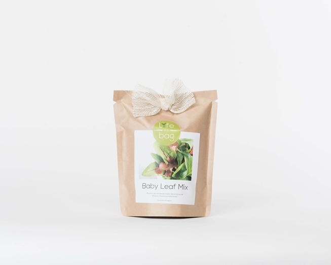Grow Bag Baby Leaf Mix