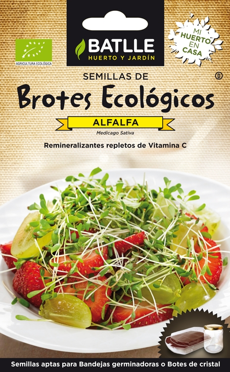 Bio Rebentos Alfafa / Luzerna