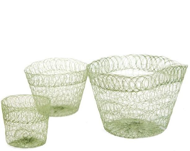 Vaso de malha biodegradável - vários tamanhos
