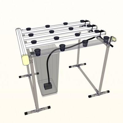 Projecto/ Design de Sistemas de Hidroponia