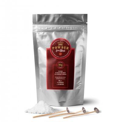 Spice Wood - Pó para criar velas com óleos vegetais (80g)