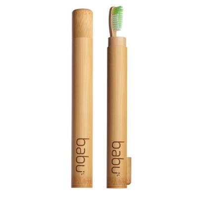 Cana de Bambú para Escova de Dente Criança