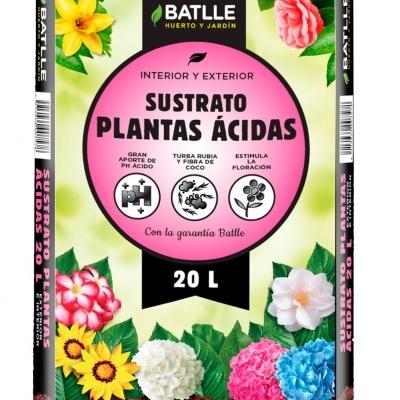 Substrato Plantas Ácidas 20L