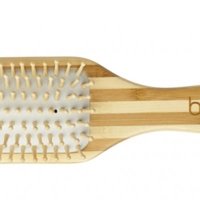 Escova Cabelo Bambu