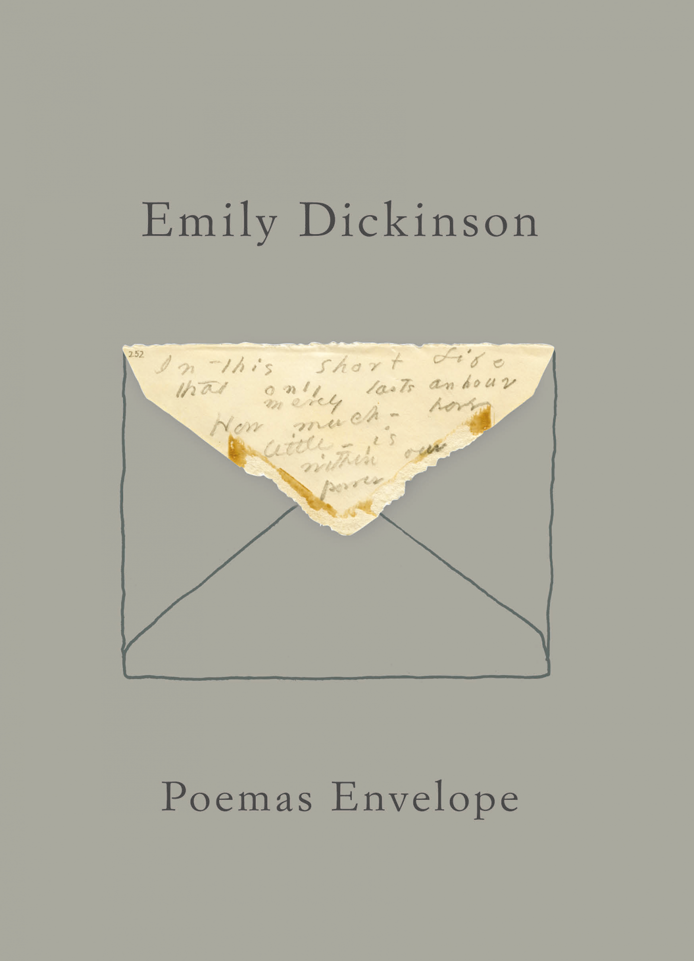 POEMAS ENVELOPE DE EMILY DICKINSON