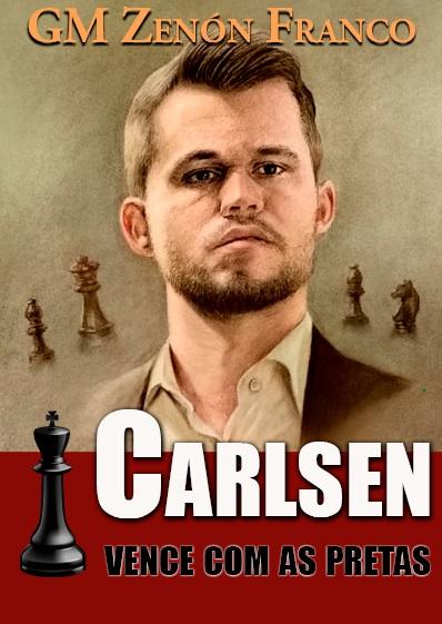 Carlsen vence com as pretas, GM Zenón Franco