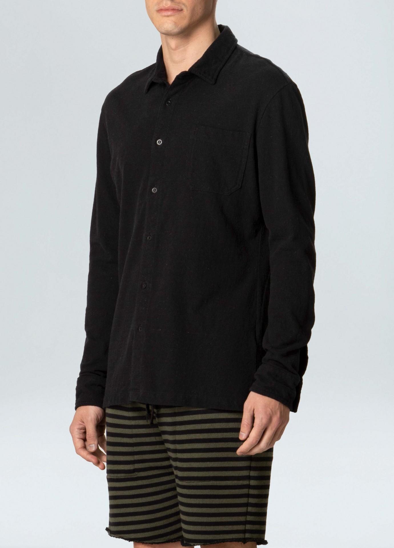 Camisa Masculina Osklen Eco Rustic Pocket Yoke II