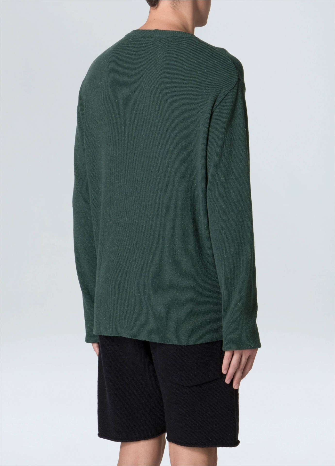 Sweater Masculino Tricot Canelado E-Fabrics