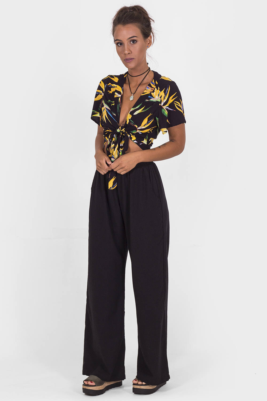 Calças Pantalona Lisa MiG