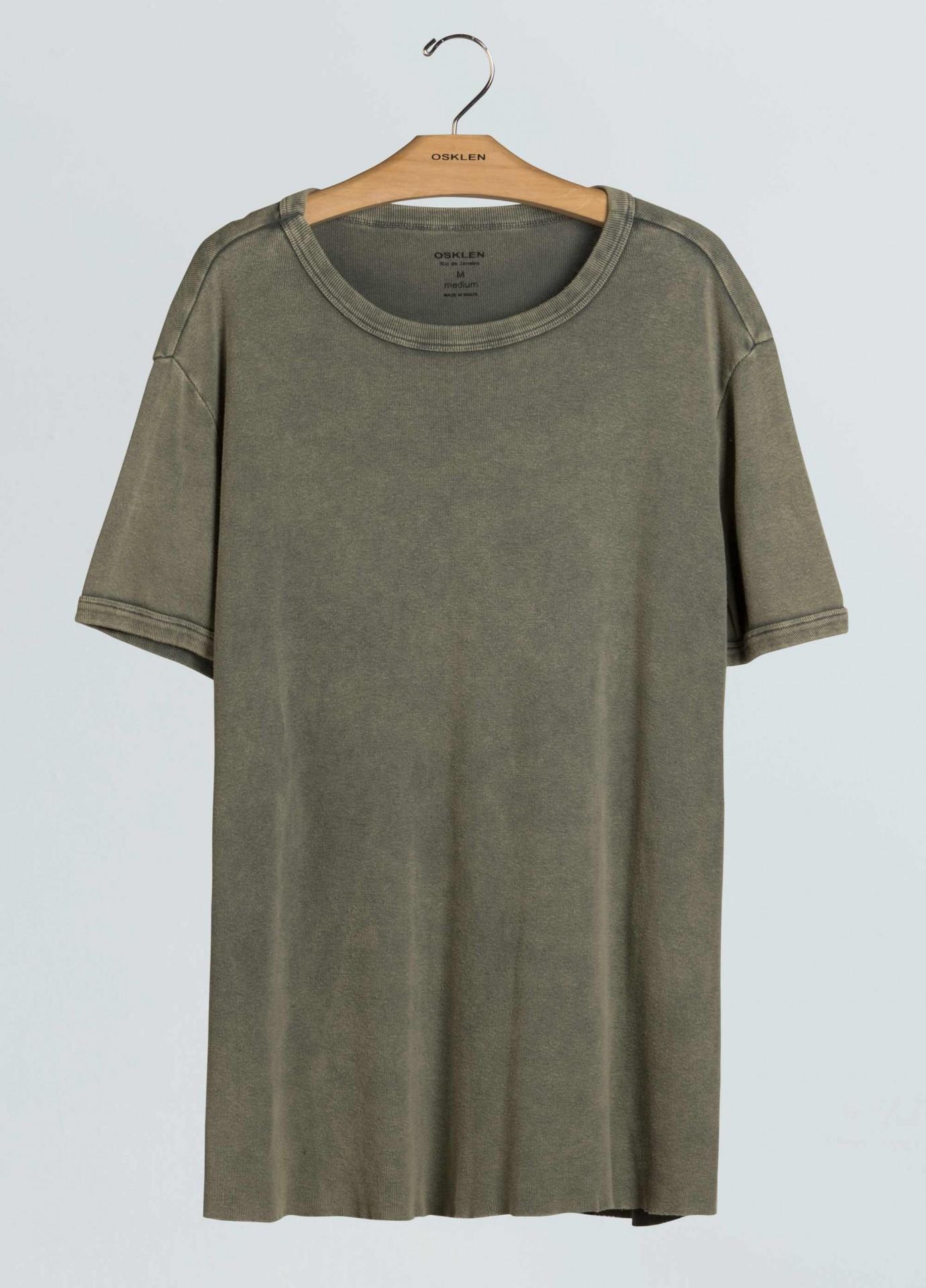 T-Shirt Osklen Used Ribbed Mc