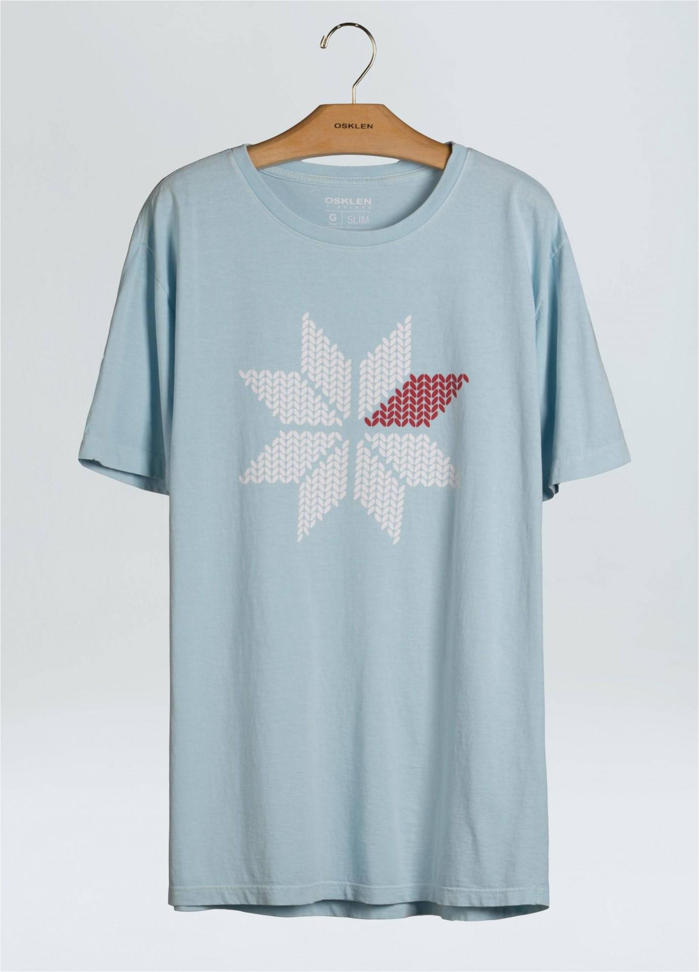 T-Shirt Masculina Stone Vintage Snow