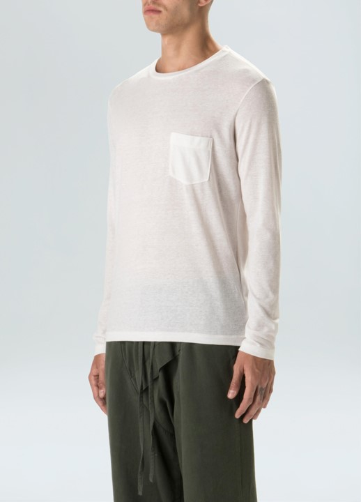T-Shirt Rustic Pocket E-Basics Ml